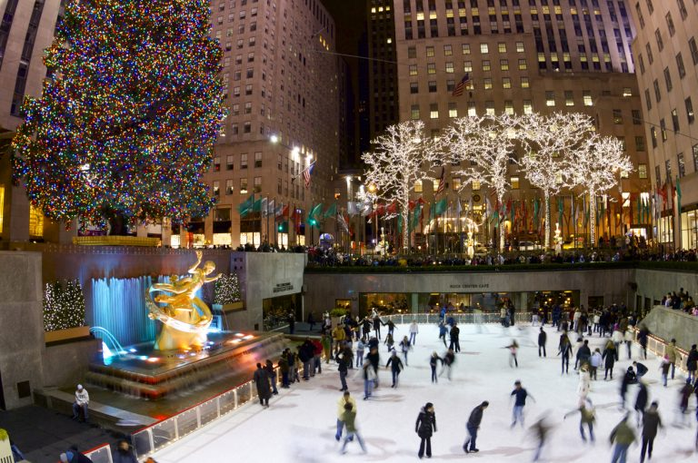 Donde viajar en Navidad Nueva York