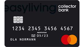 Collector Easyliving Kreditkort Omdöme